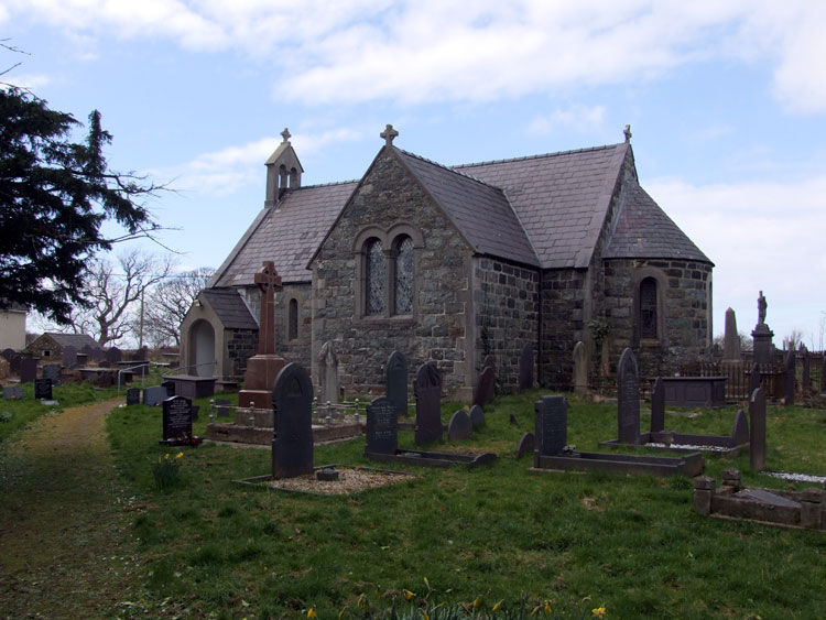 The Church of St Gwyndaf