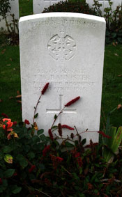 Private John William Bannister, 22705