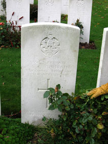Private Victor George Church. 35109.