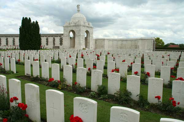 A View of Part of the Tyne Cot Cemetery