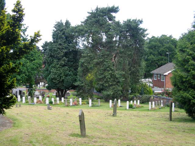 Rugely Cemetery, Staffordshire (#1)