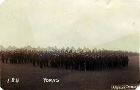 The 10th Battalion in Aylesbury Camp
