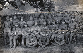 Officers of the 1st Battalion the Yorkshire Regiment, - 1904.