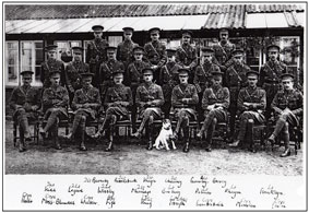 Officers of the 2nd Battalion the Yorkshire Regiment, - 1913