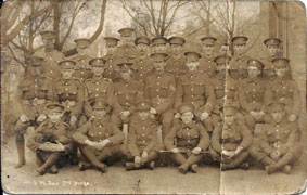 3rd Battalion Platoon of the Yorkshire Regiment, - Early 1917