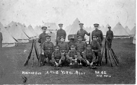 5th Battalion Soldiers in Camp (Pre-1914?)