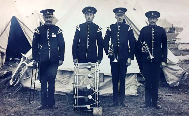 5th Battalion Band Members (date unknown)