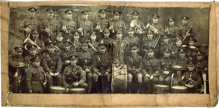7th Battalion (?) Band, post- July 1916