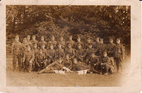 8th Battalion Platoon, 1915