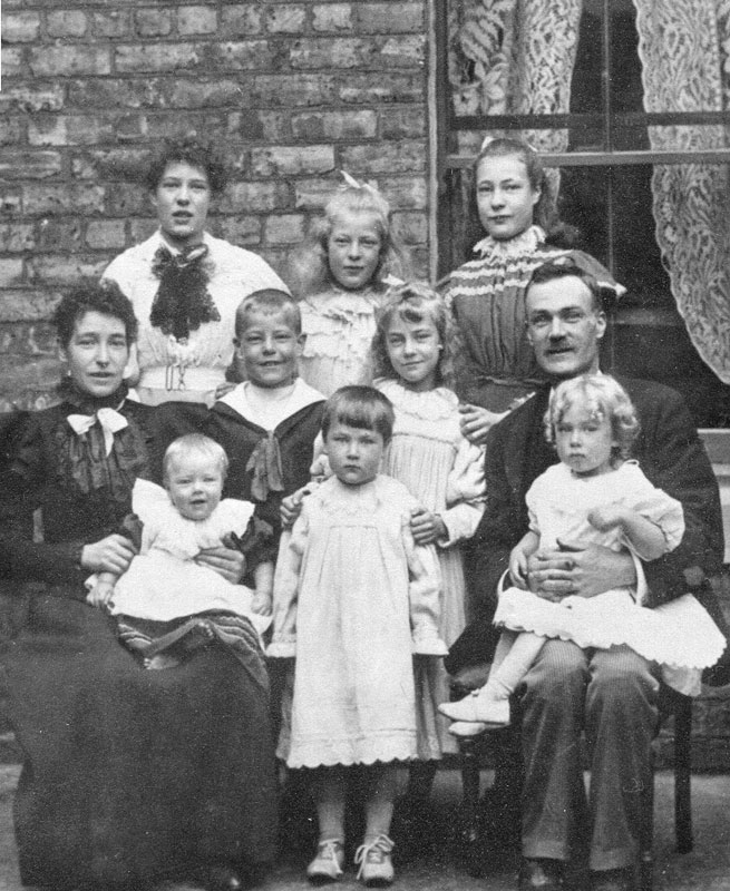 The Young family taken in 1897