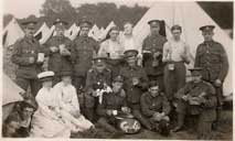 Members of the 4th Battalion in Camp