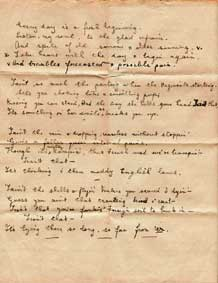Poem from the Western Front
