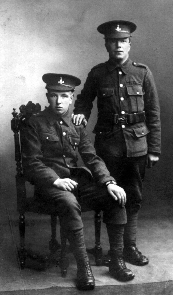 Privates George Wilson and John William Wilson.