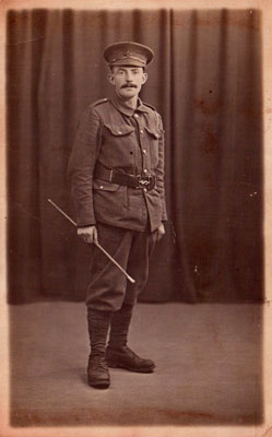 Private Fred Nicholson, 9th Battalion