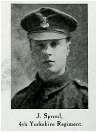 Private JOHN SPROUL. 2189