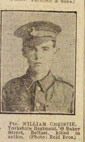 Private William CHRISTIE, 30041