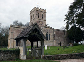 TACKLEY (OXON), - The Church of St. Nicholas
