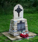 The memorial to Donald Simpson Bell VC